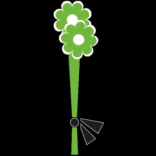 Smuteční kytice XS